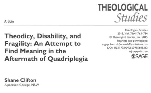 cover theodicy, disability, and fragility